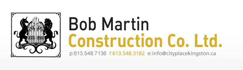 Bob Martin Construction Co. Ltd. (City Place Kingston)